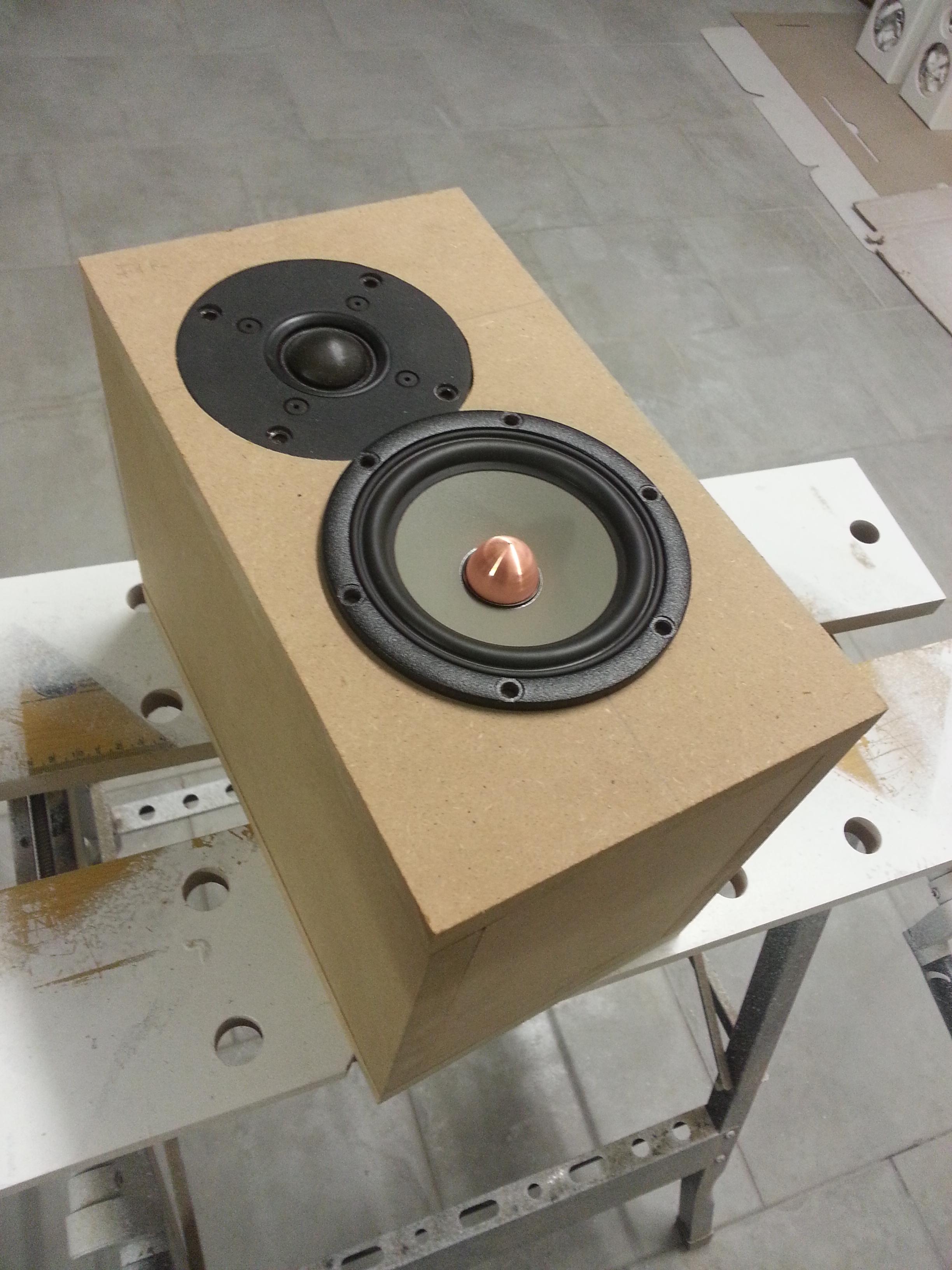 Hatt SS mkII - mini diffusore a 2 vie
